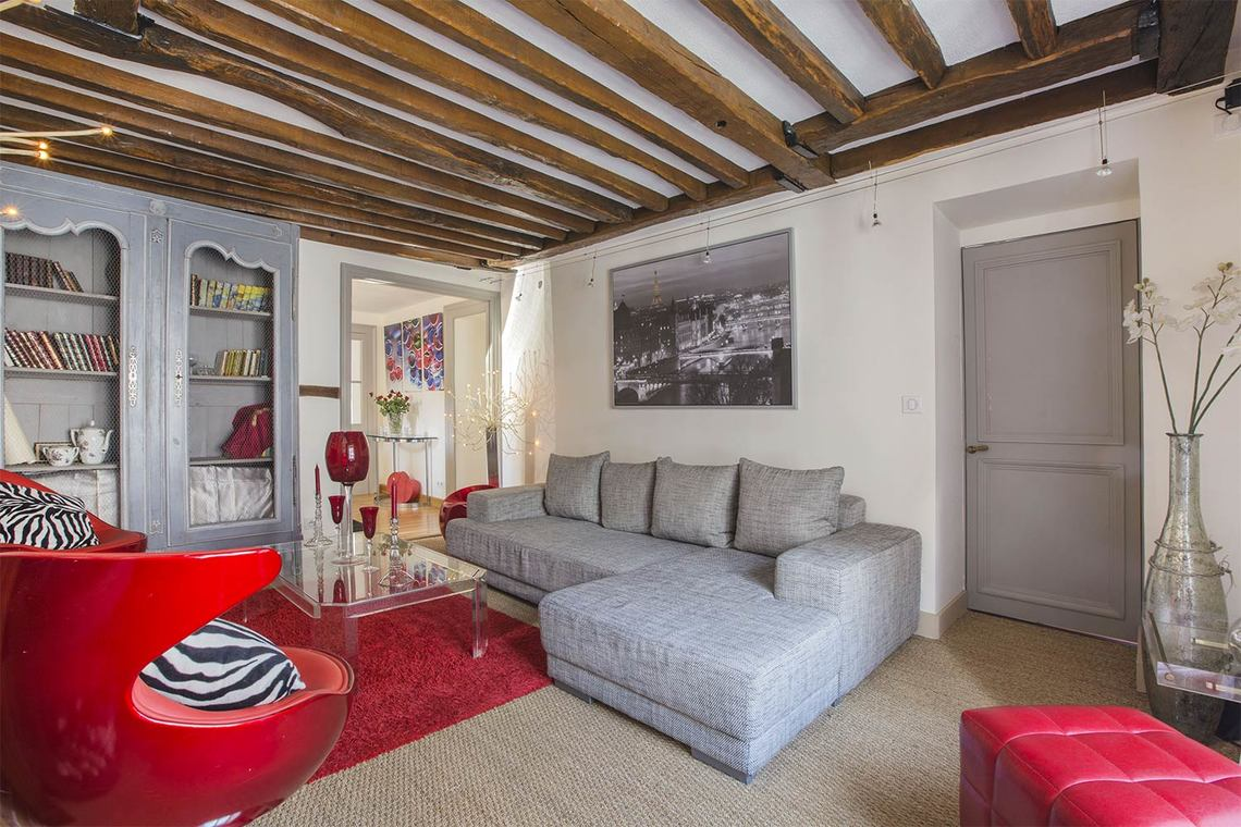 Furnished apartment for rent Paris Rue Gomboust