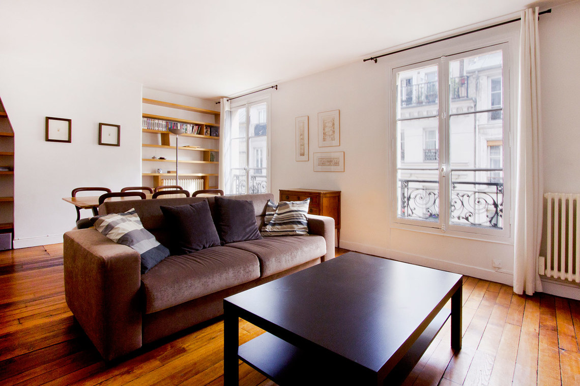 Furnished apartment for rent Paris Rue Greneta