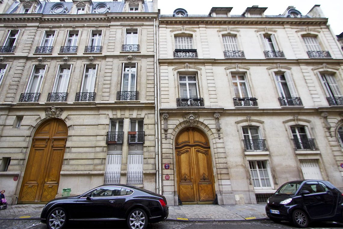 Apartment Paris Rue de Monceau 11