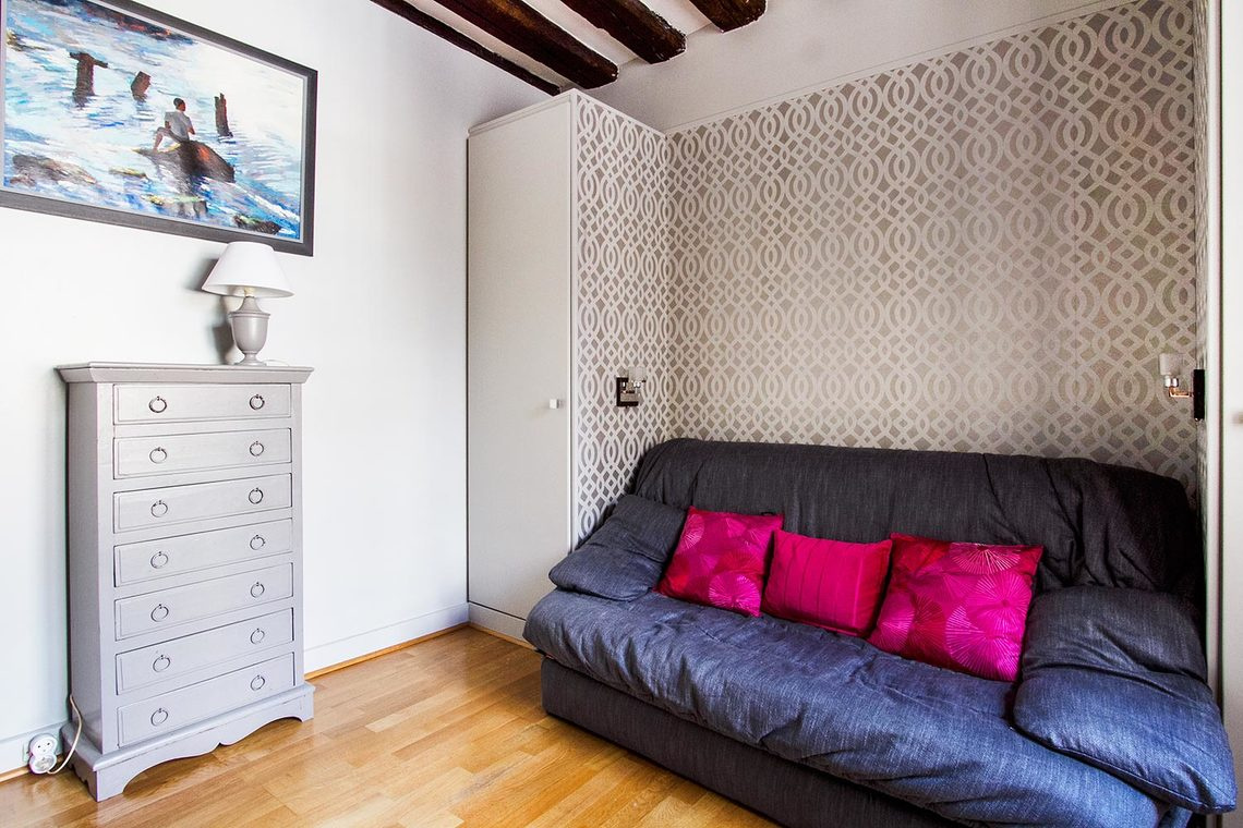 Apartment Paris Rue des Bourdonnais 2