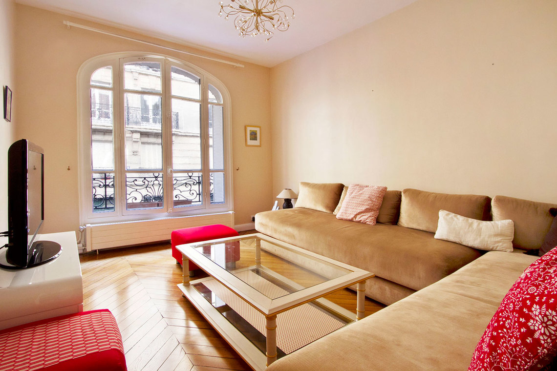 Furnished apartment for rent Paris Rue Boyer-Barret