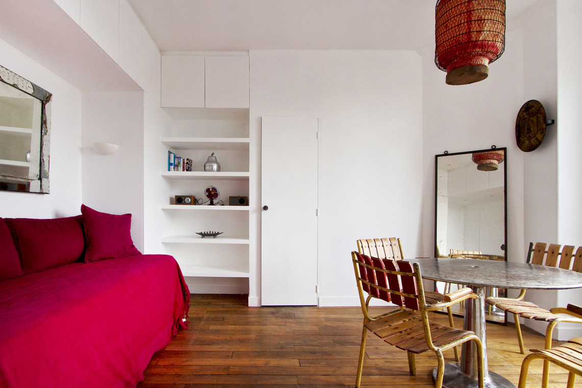 Appartement Paris Rue Lamarck 2