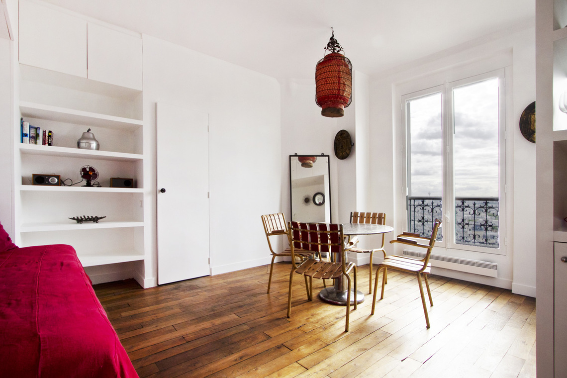 Location studio meubl rue lamarck paris ref 7501 for Appartement meuble a louer paris 16