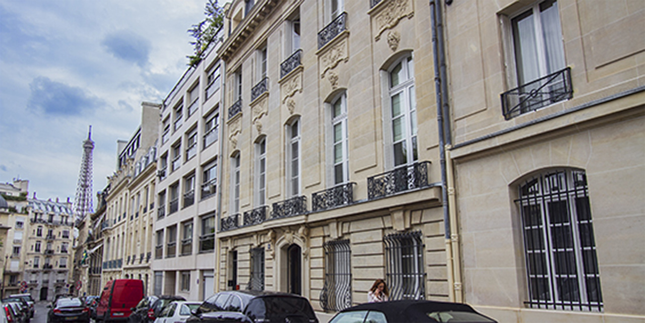 Appartement Paris Rue de l'Amiral d'Estaing 12