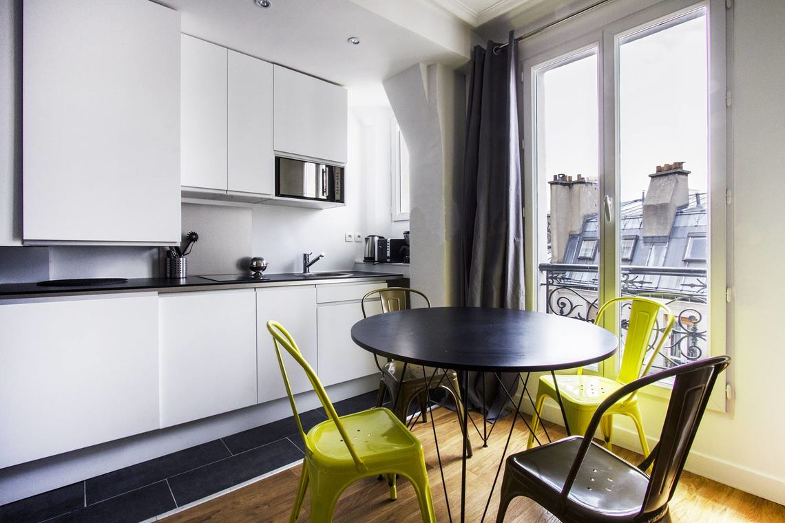 Appartement Paris Rue d'Amsterdam 6