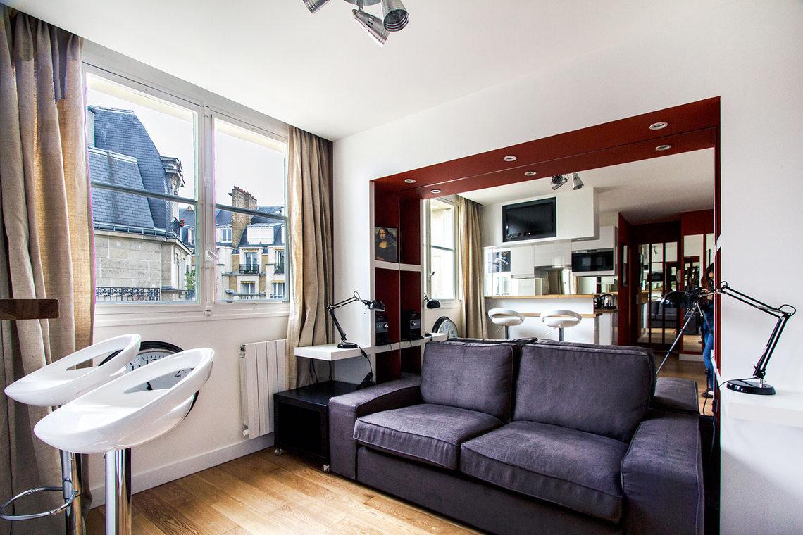 Location appartement meubl rue jouvenet paris ref 7557 - Location appartement meuble paris ...