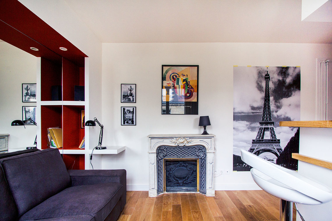 Apartment Paris Rue Jouvenet 3