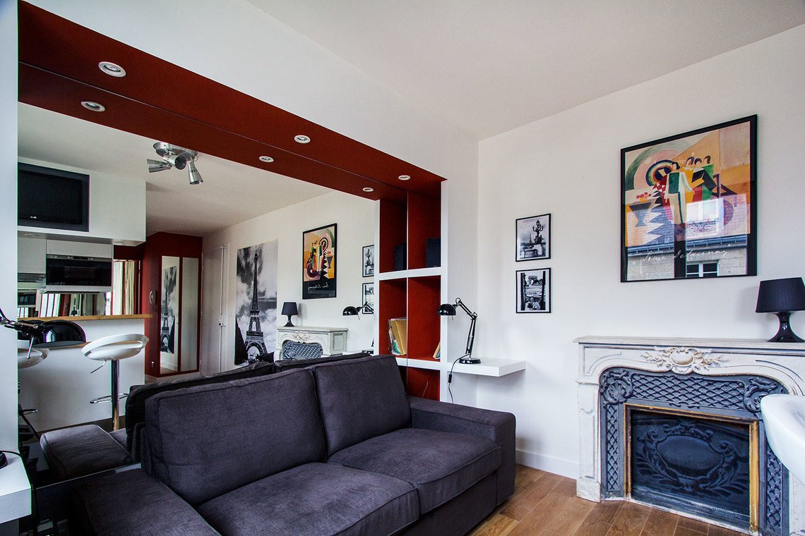 Apartment Paris Rue Jouvenet 7