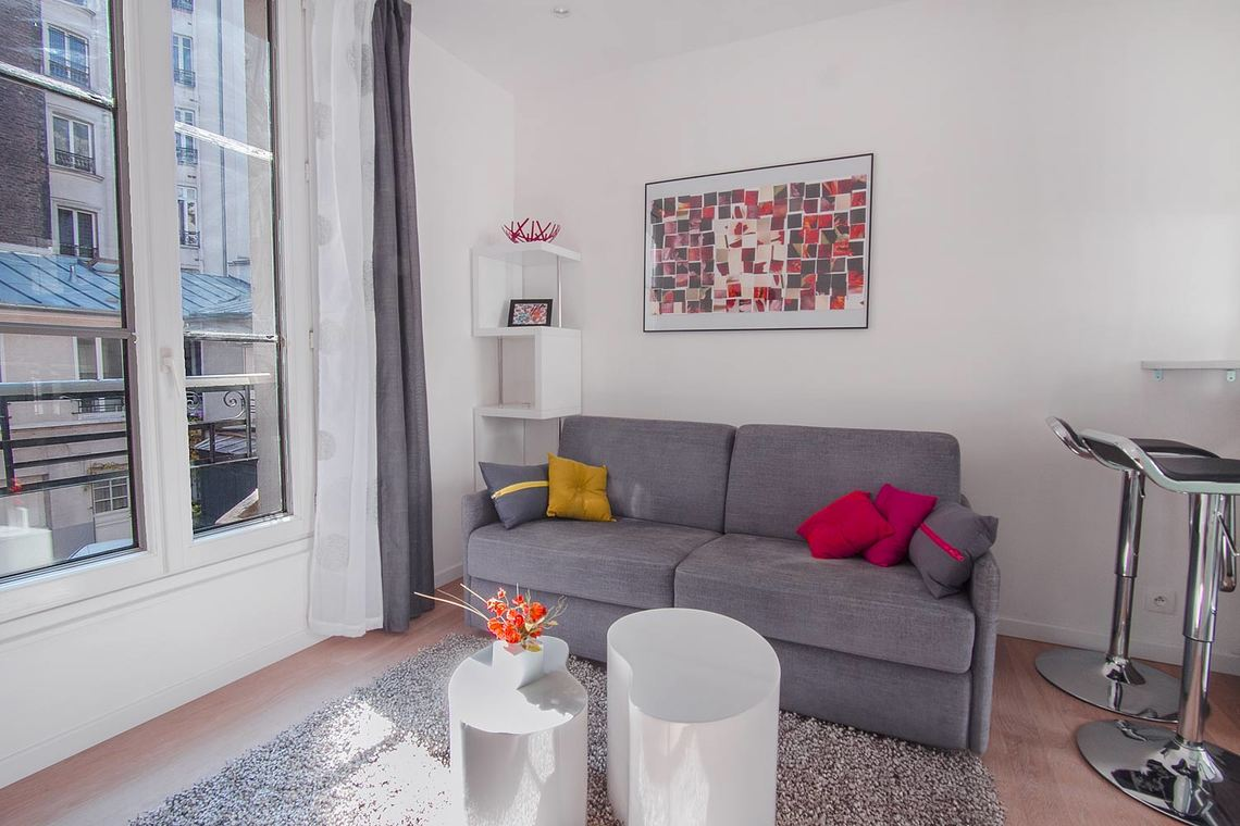 Furnished apartment for rent Paris Rue de Tocqueville