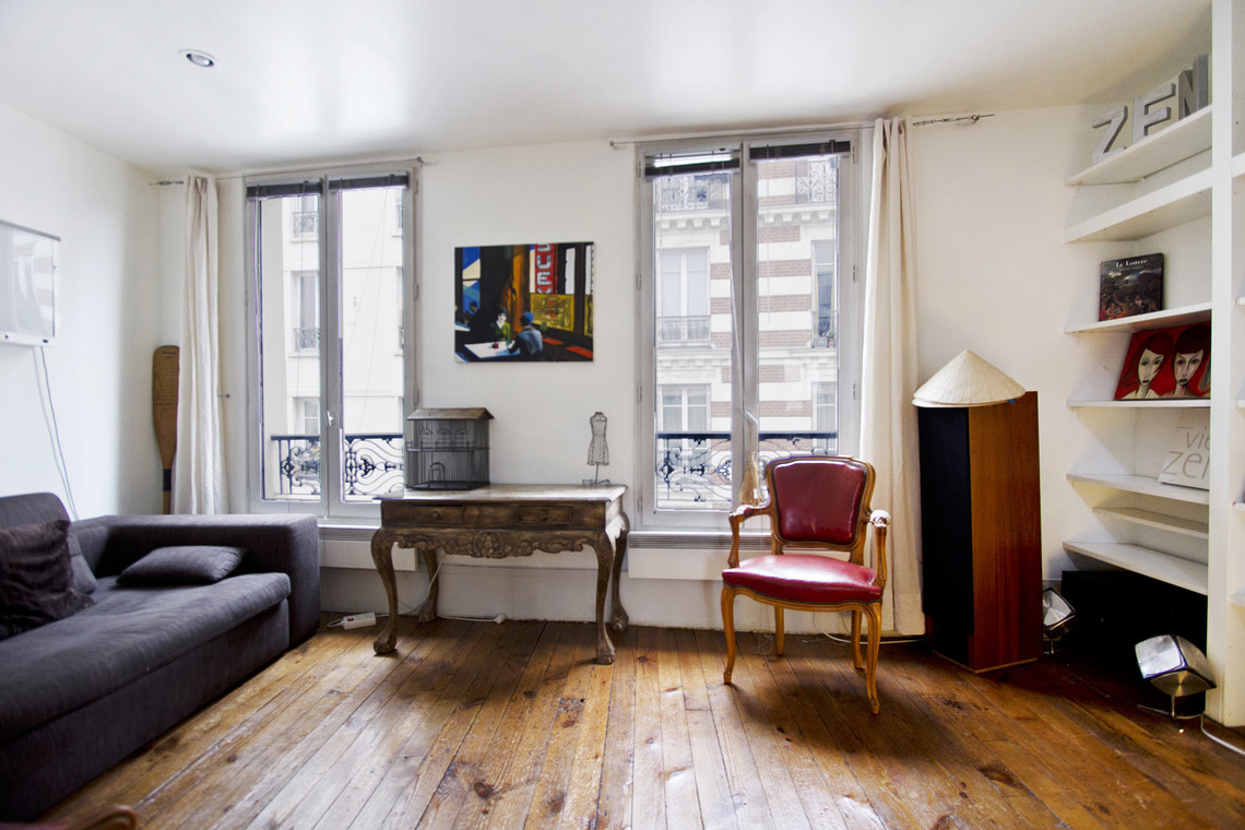 Furnished apartment for rent Paris Rue de l'Equerre