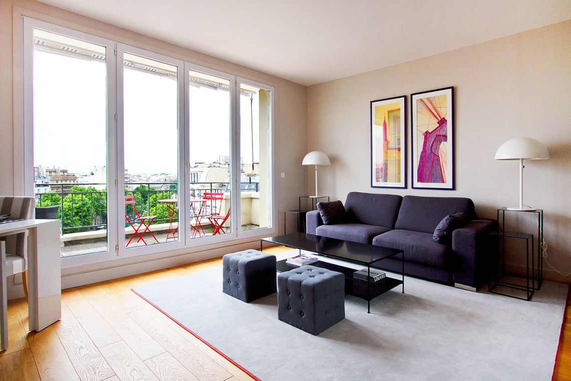 Furnished apartment for rent Paris Rue Philibert Delorme