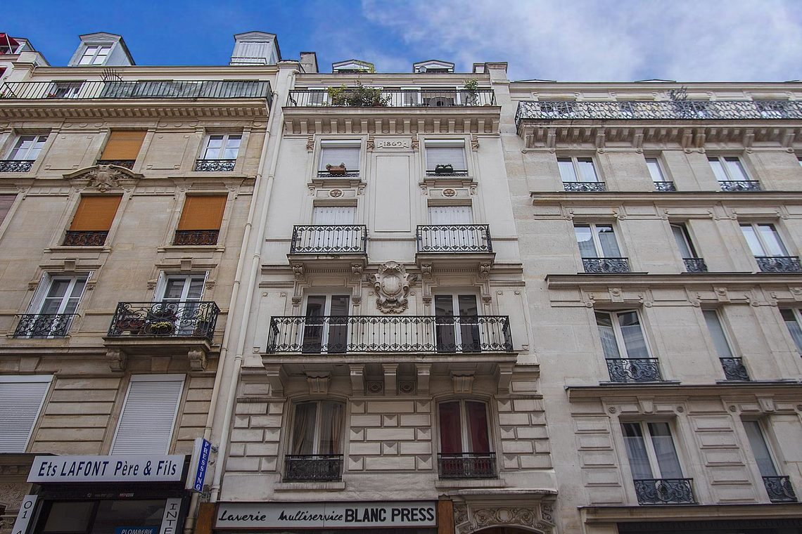 Appartement Paris Rue d'Arras 9