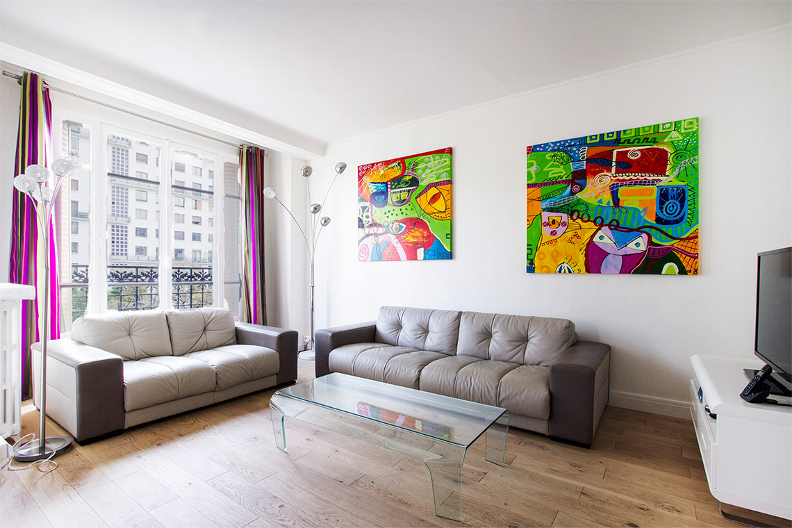 Furnished apartment for rent Paris Avenue de Versailles