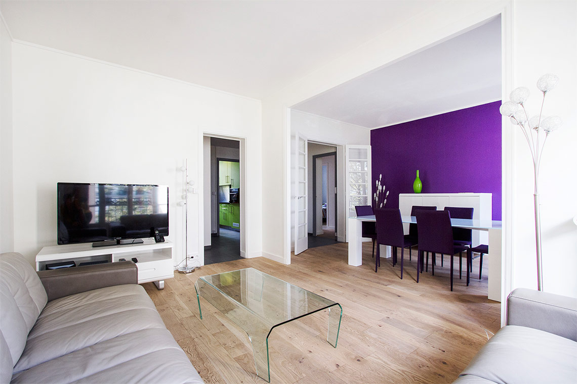 Apartment Paris Avenue de Versailles 2