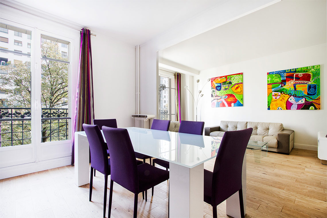 Apartment Paris Avenue de Versailles 3
