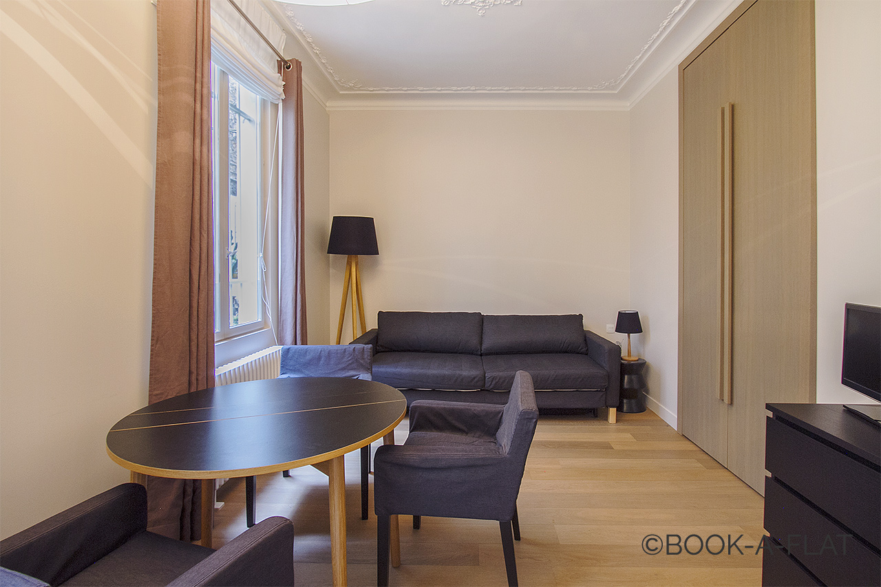 Furnished apartment for rent Paris Rue Fourcroy