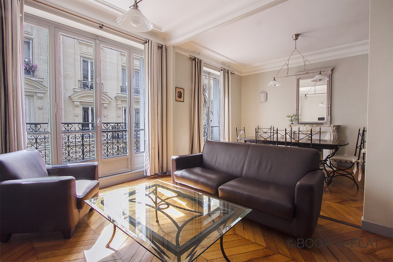 Furnished apartment for rent Paris Rue Robert le Coin