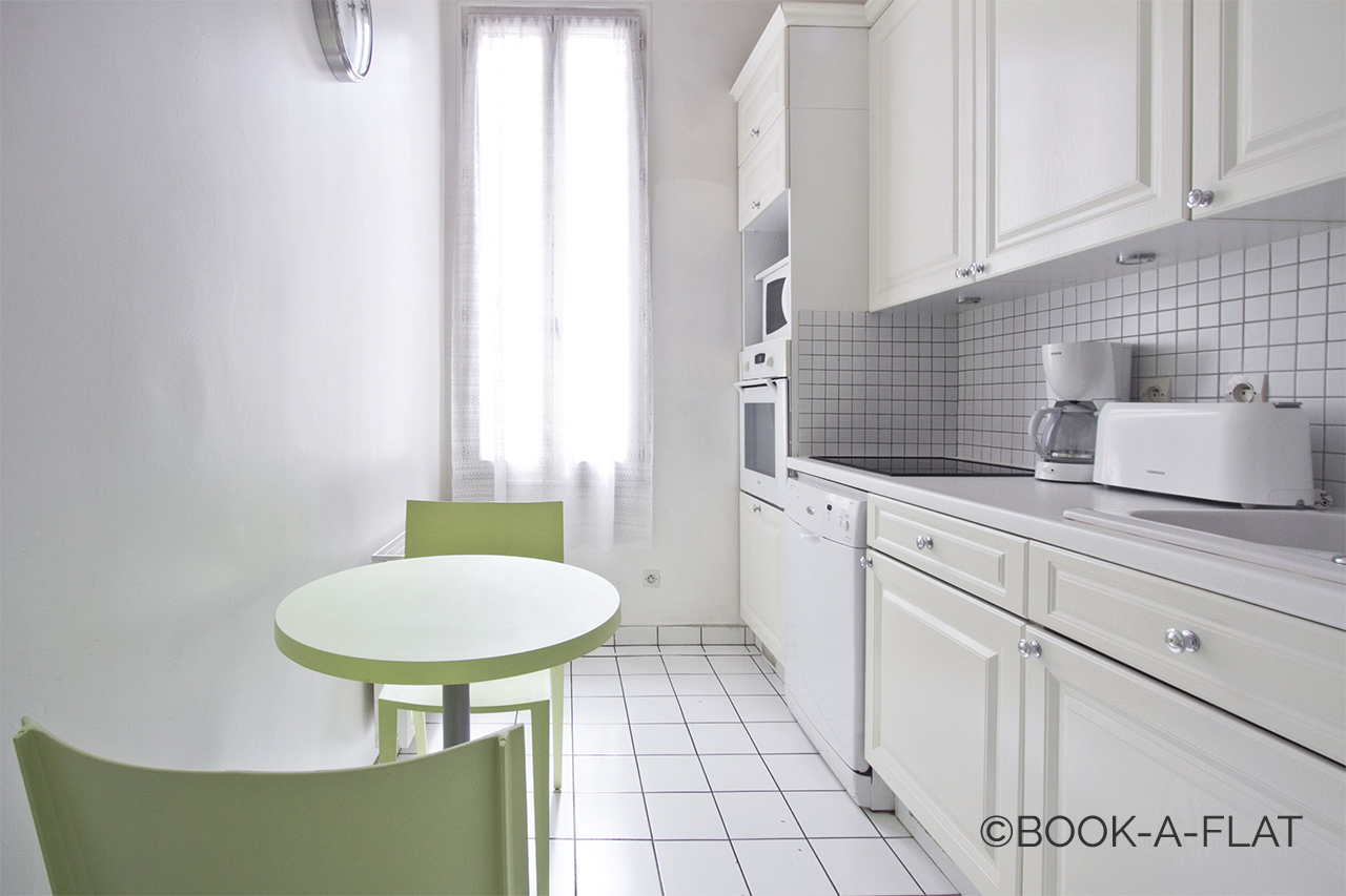 Appartement Paris Rue Vaucanson 4