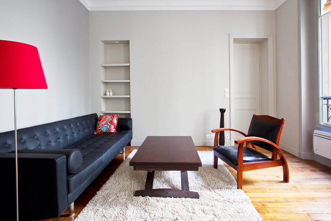 Furnished apartment for rent Paris Rue Mansart