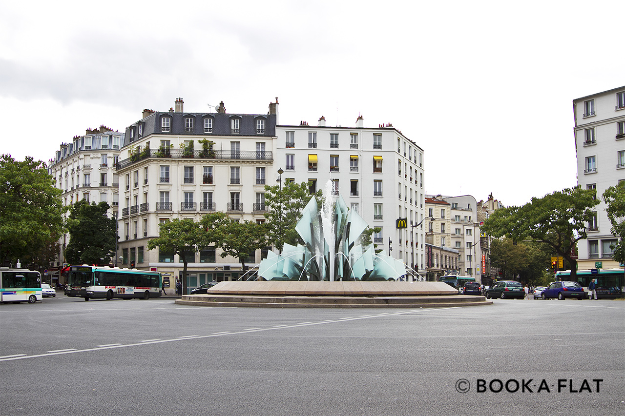 Appartement Paris Place Gambetta 13
