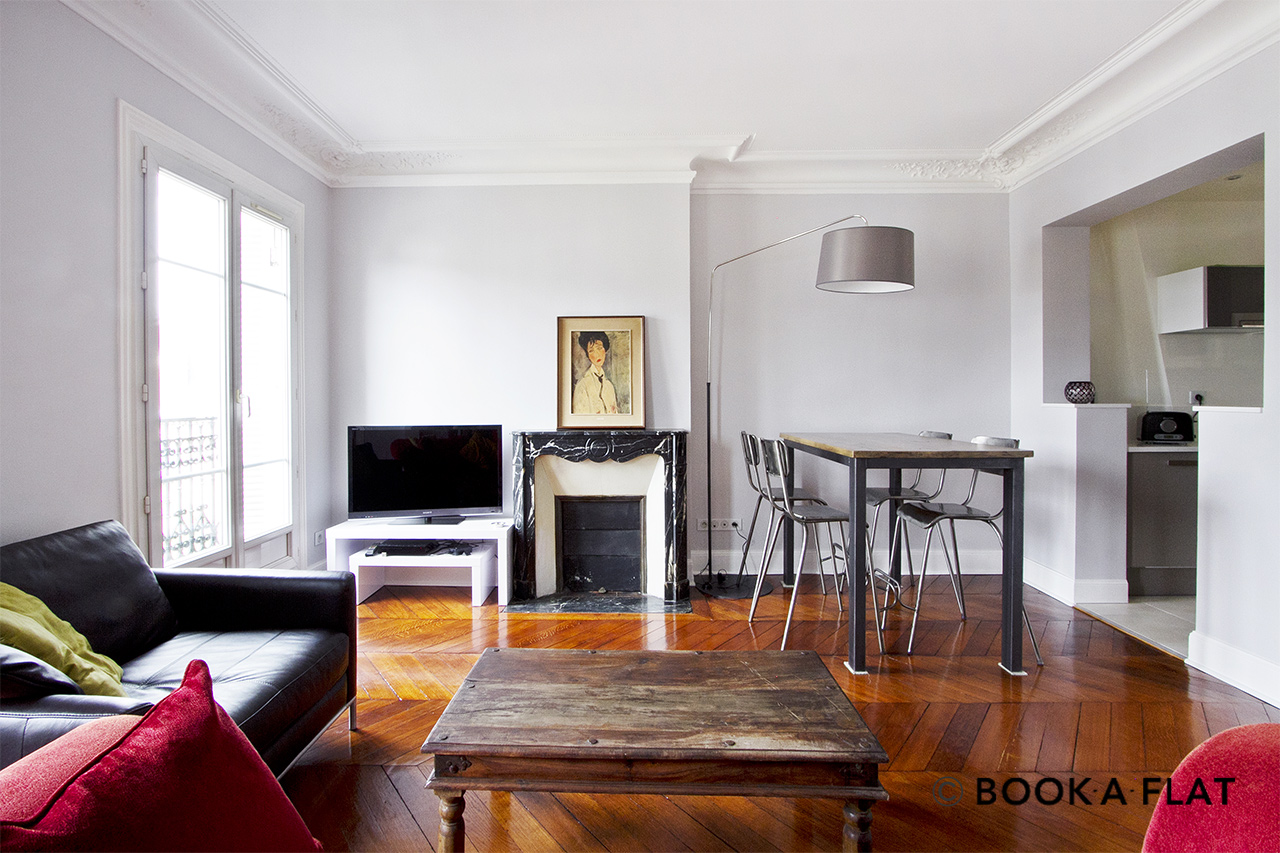 Paris Place Gambetta Appartement à louer