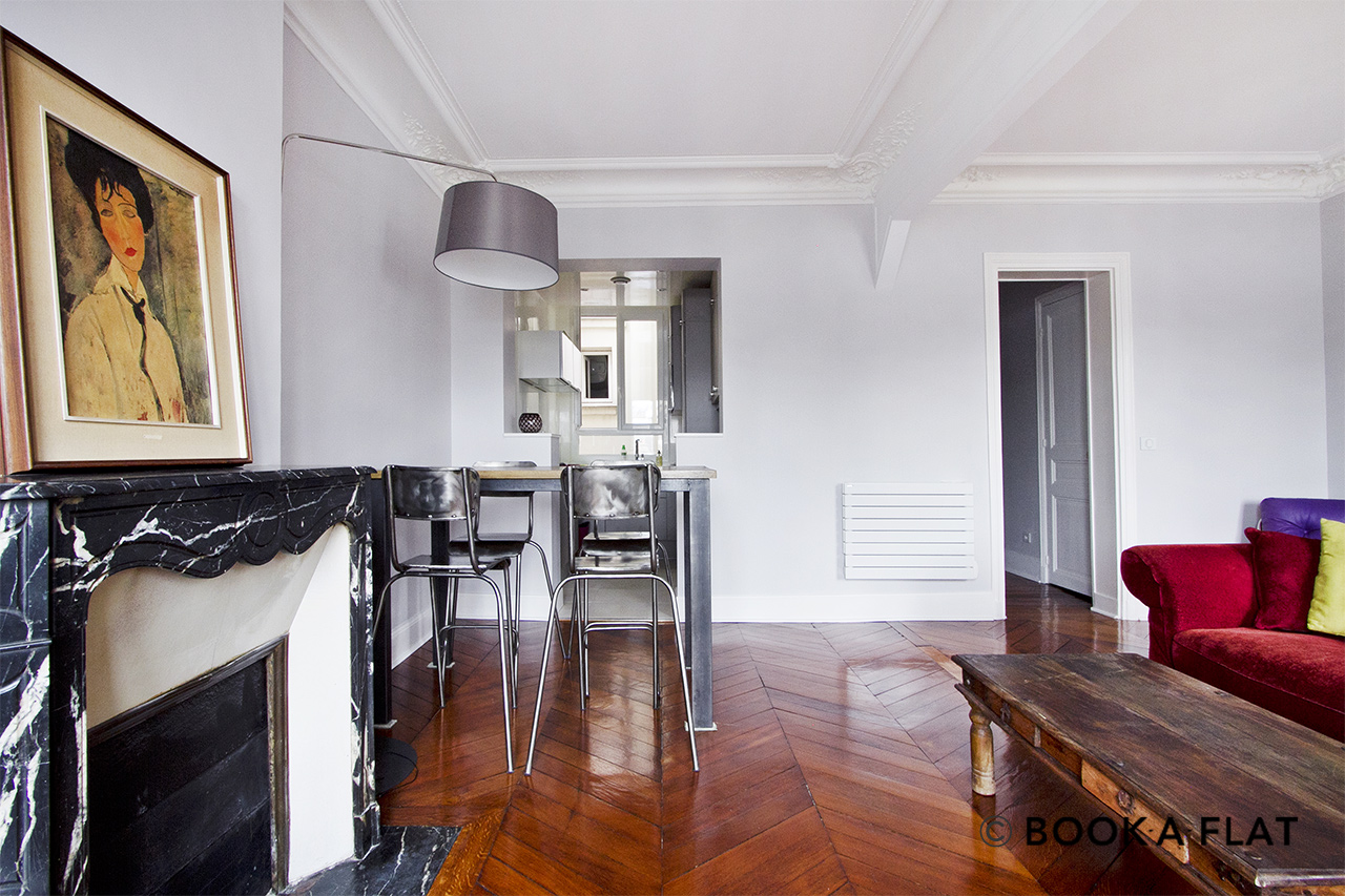 Appartement Paris Place Gambetta 2