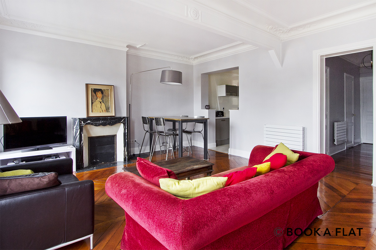Appartement Paris Place Gambetta 5