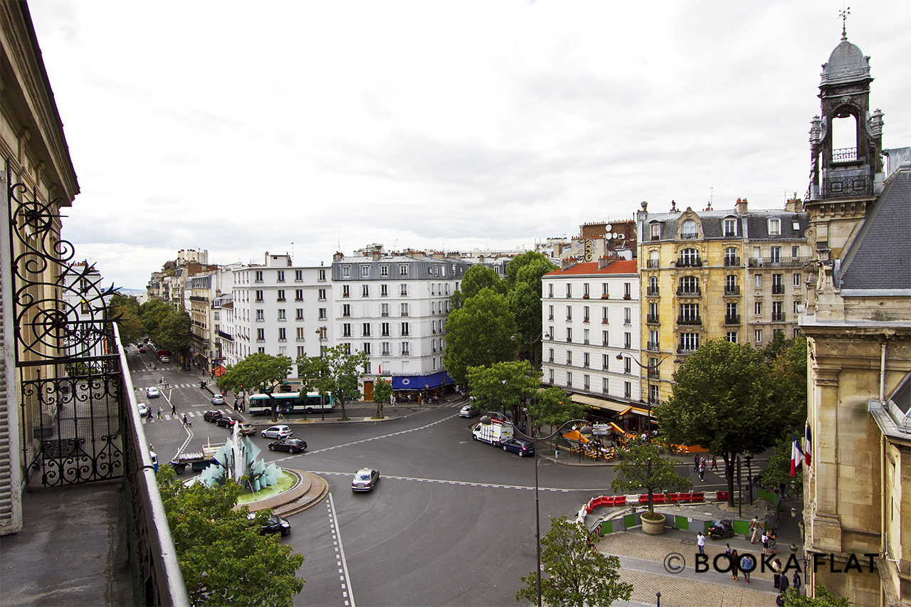 Appartement Paris Place Gambetta 12