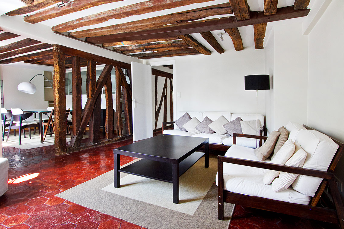 Location appartement meubl rue de savoie paris ref 7870 for Location de meuble paris