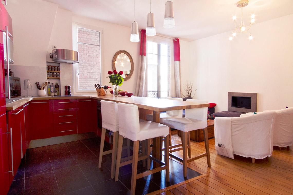 location appartement meubl avenue douard vaillant boulogne billancourt ref 7894. Black Bedroom Furniture Sets. Home Design Ideas