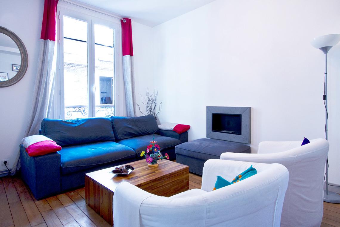 Superb Furnished Apartment For Rent Boulogne Billancourt Avenue Édouard Vaillant