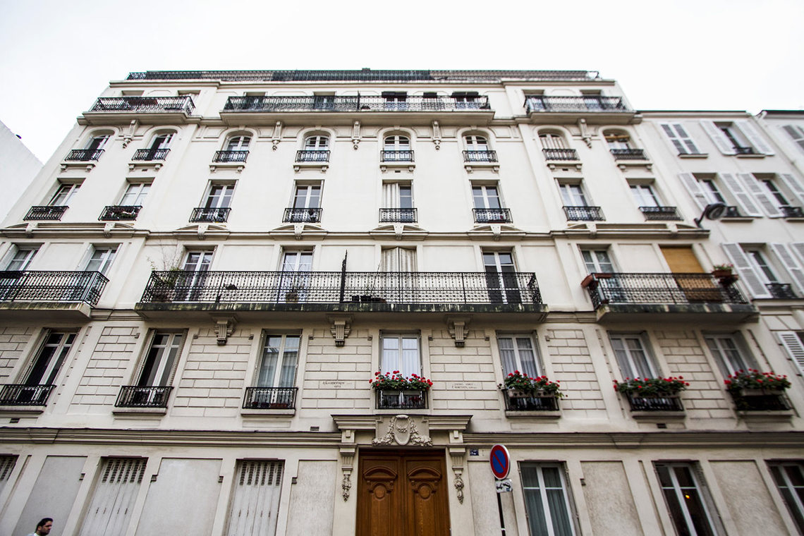 Apartment Paris Rue Gauthey 13