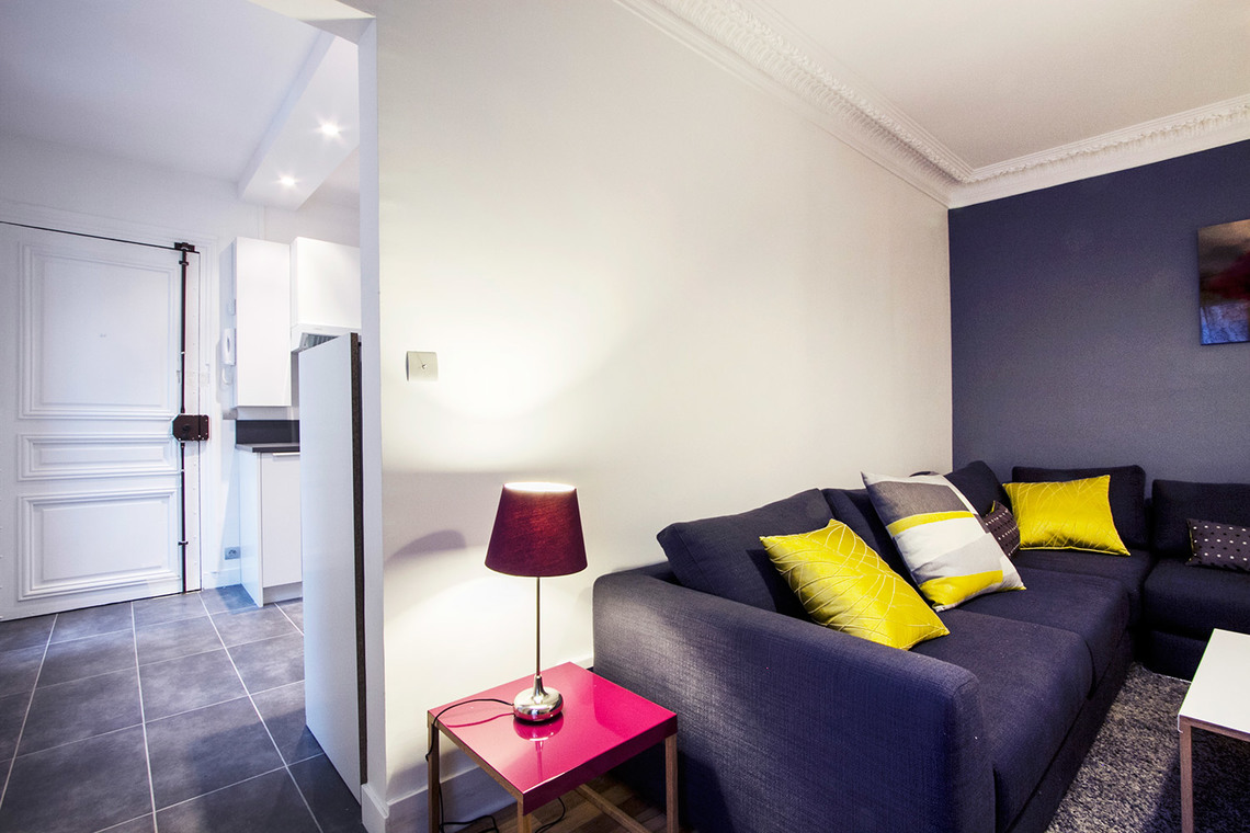 Apartment Paris Rue Gauthey 4