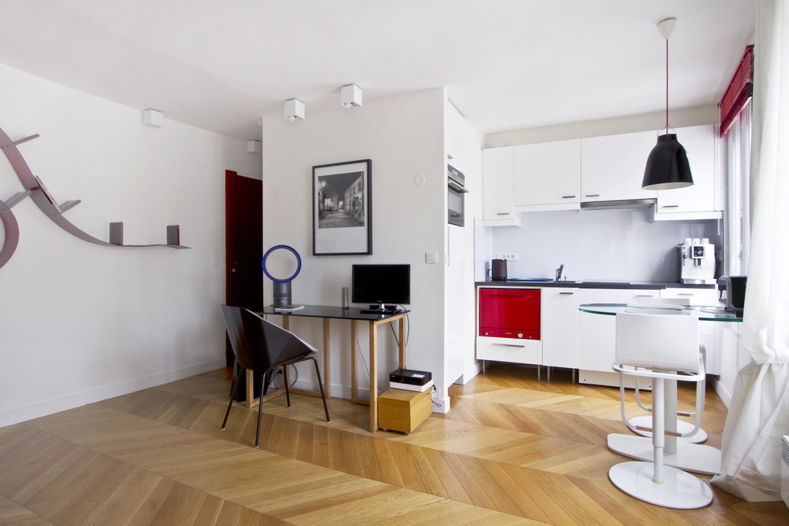 Appartement Paris Rue des Archives 2