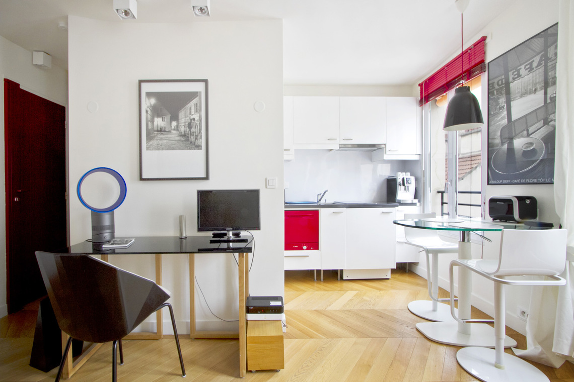 Appartement Paris Rue des Archives 3
