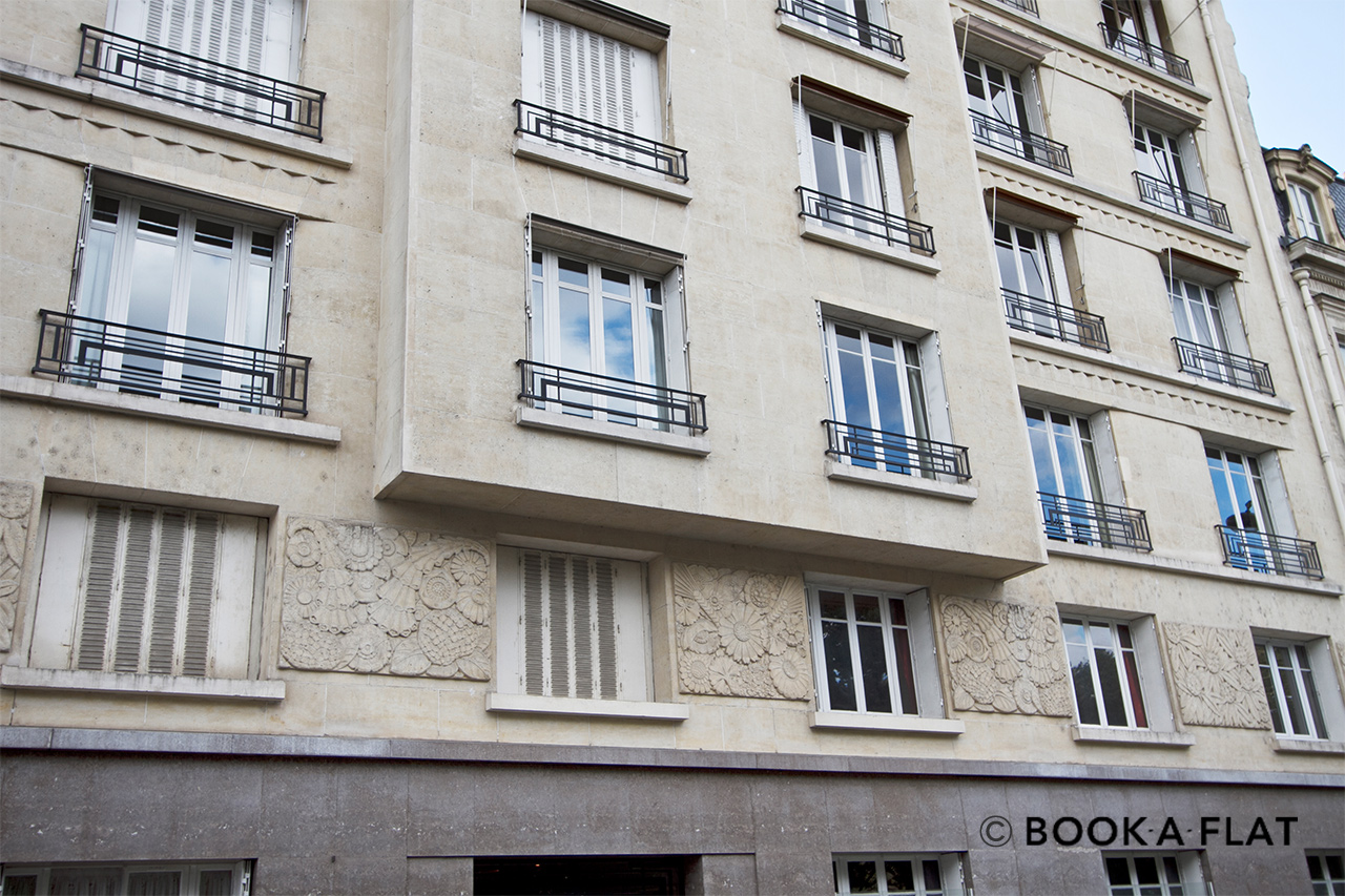 Квартира Paris Rue Fabert 20