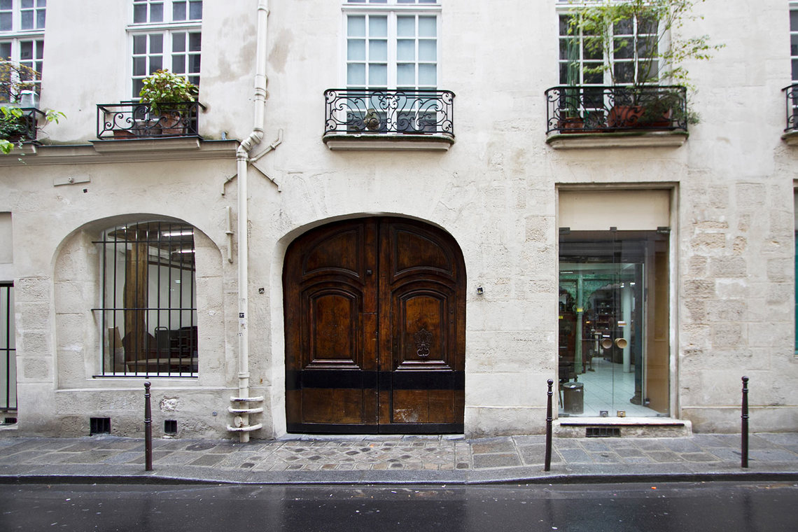 Appartement Paris Rue Chapon 9