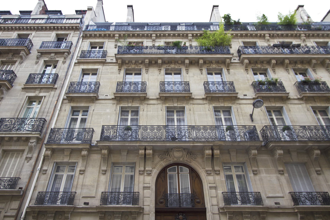 Квартира Paris Rue Pierre Demours 9