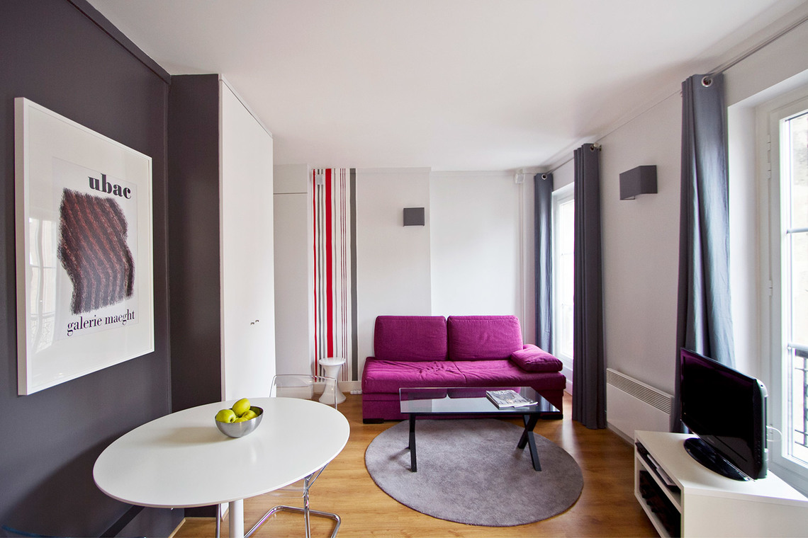 Furnished apartment for rent Paris Boulevard Murat
