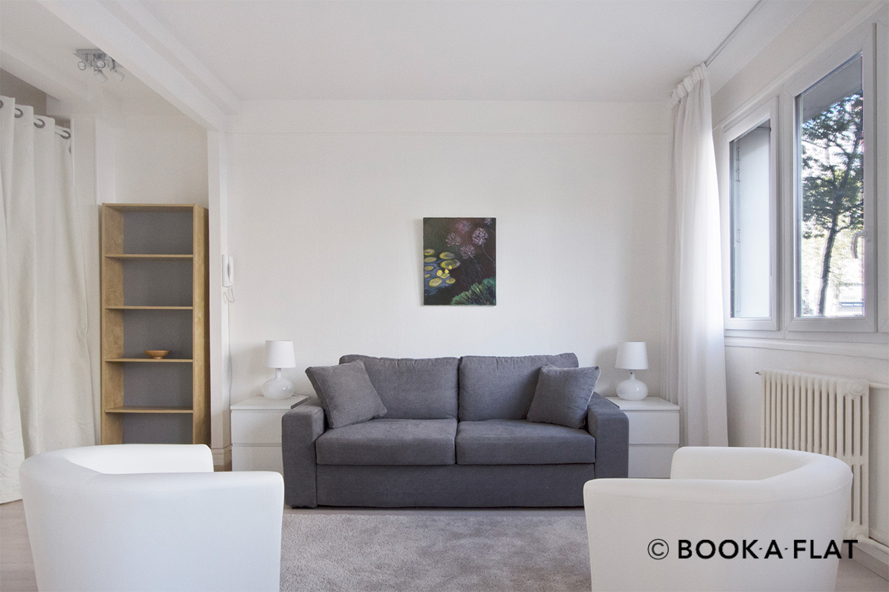 Furnished apartment for rent Paris Boulevard Berthier