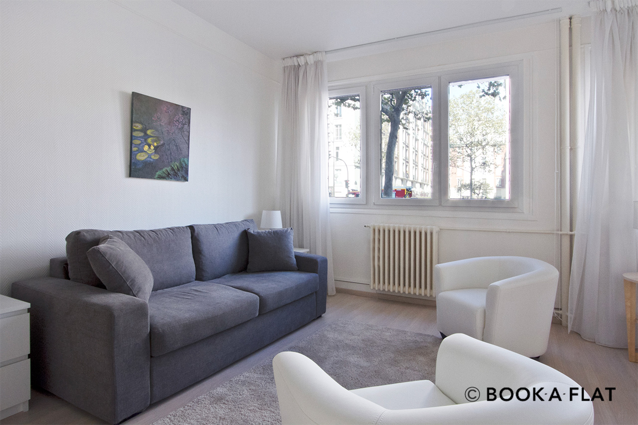 Paris Boulevard Berthier Apartment for rent