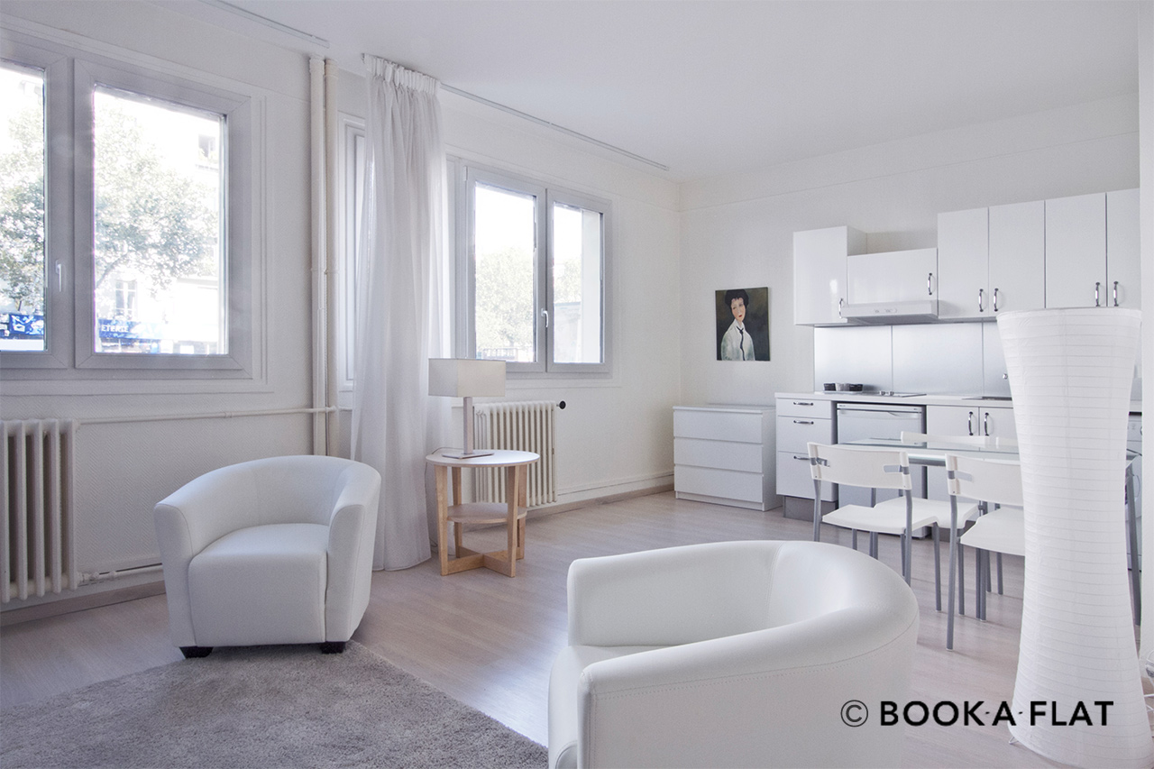 Apartment Paris Boulevard Berthier 2