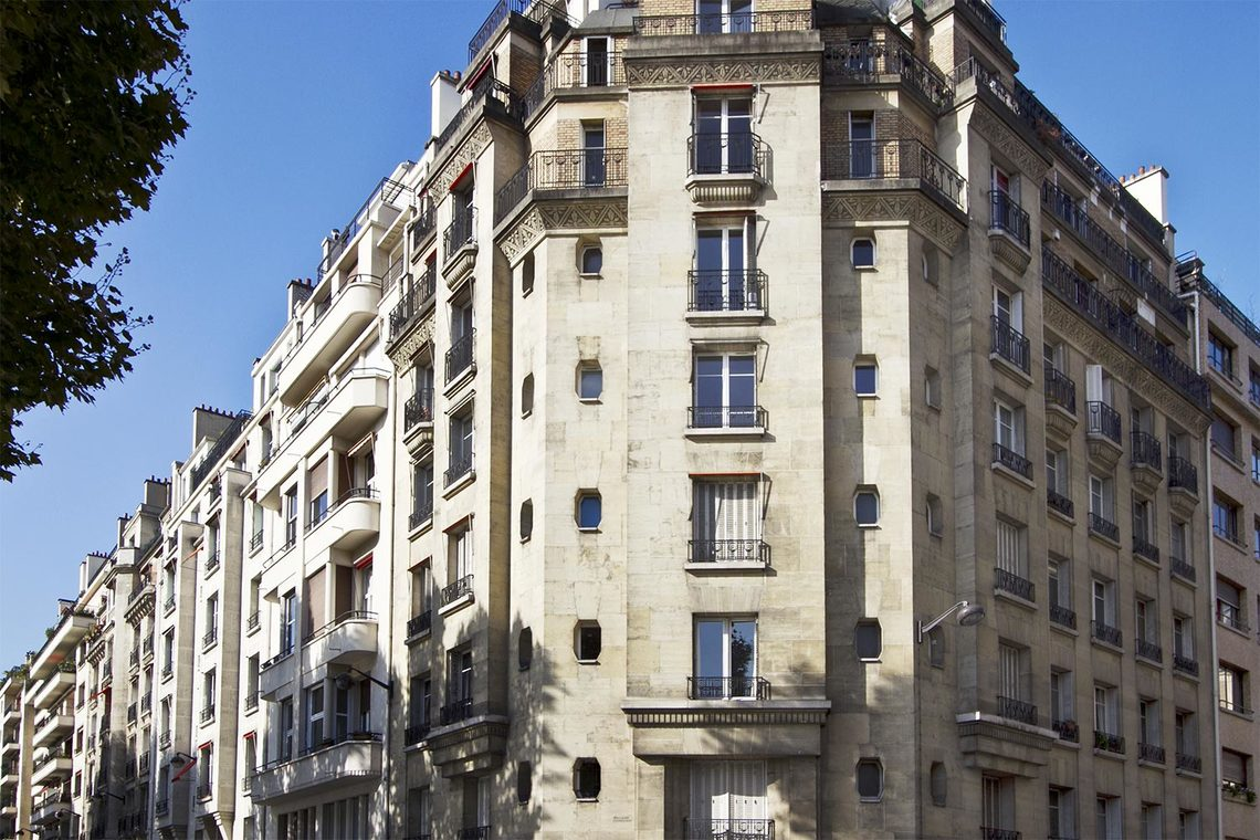 Appartement Paris Quai Louis Blériot 12