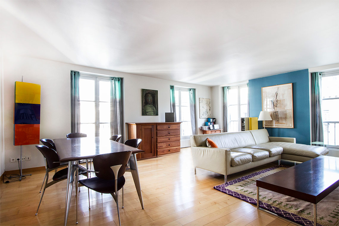 Appartement Paris Rue Béranger 9