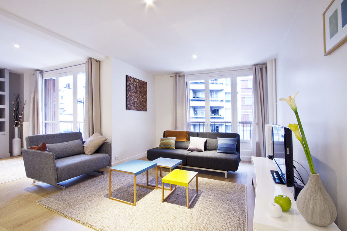 Furnished apartment for rent Paris Rue Marcadet