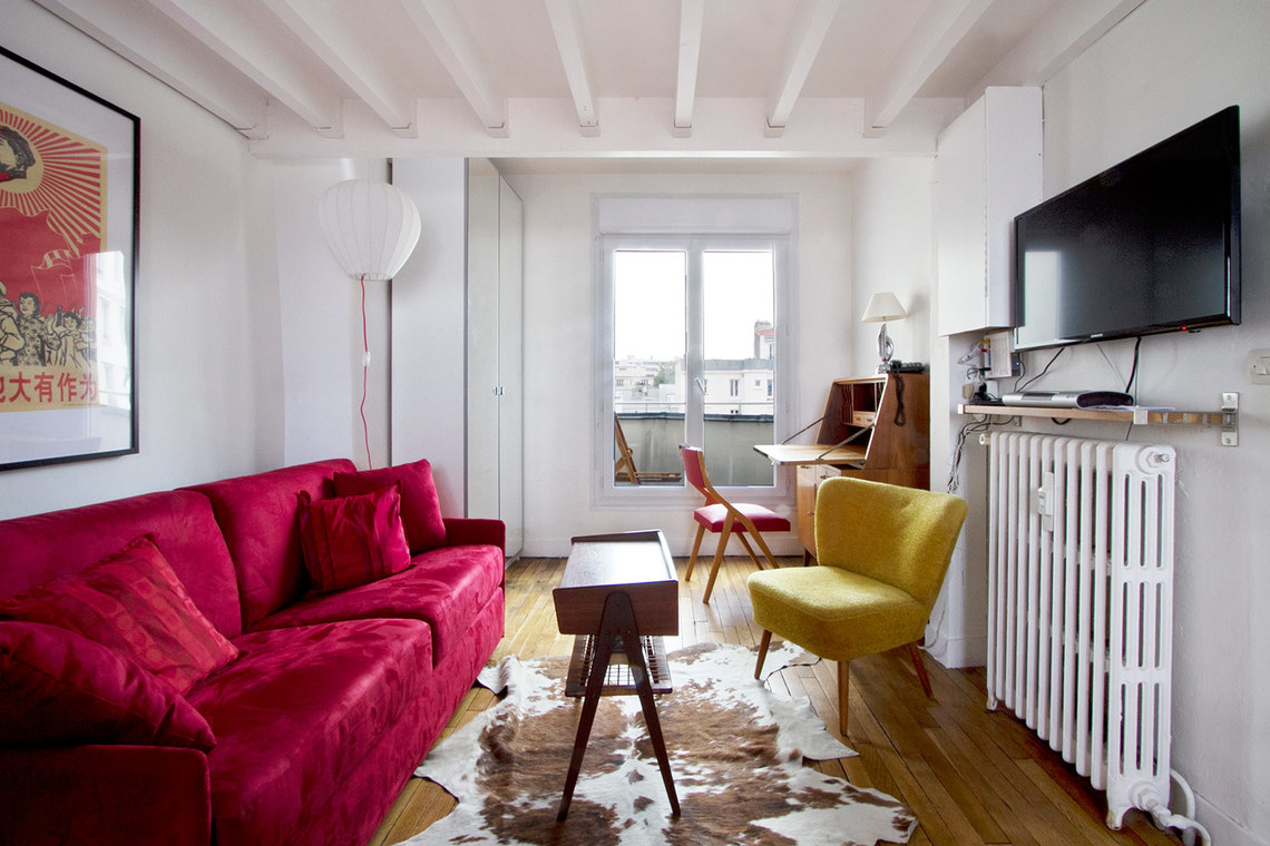 Furnished apartment for rent Paris Rue Michal