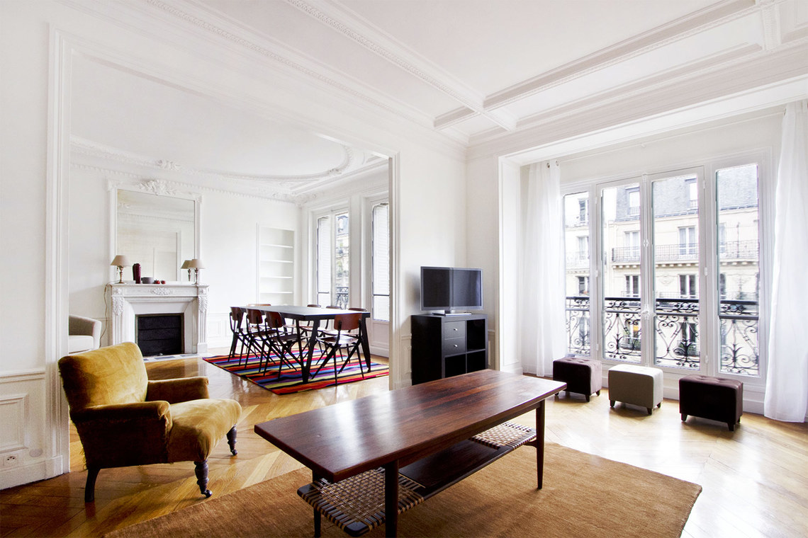 Furnished apartment for rent Paris Rue Fabre d'Églantine