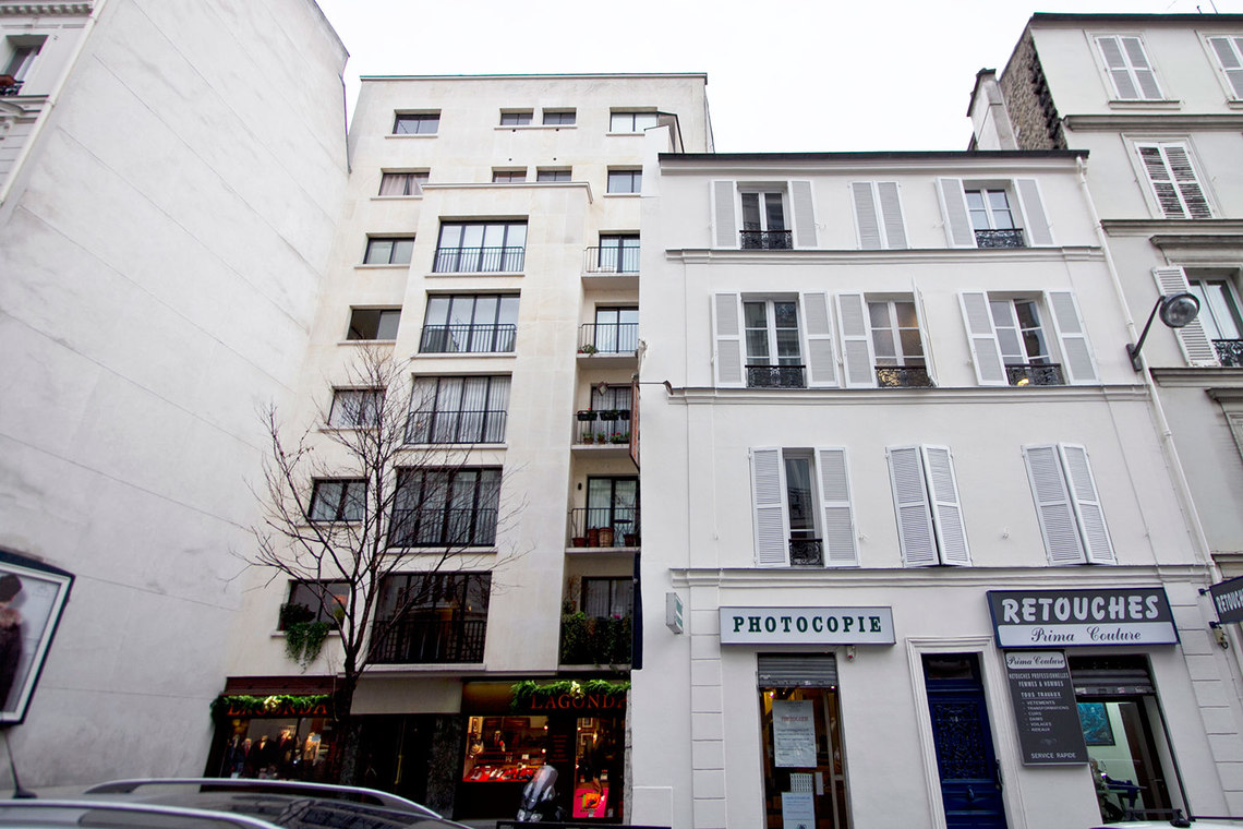 Apartment Paris Rue Benjamin Franklin 10