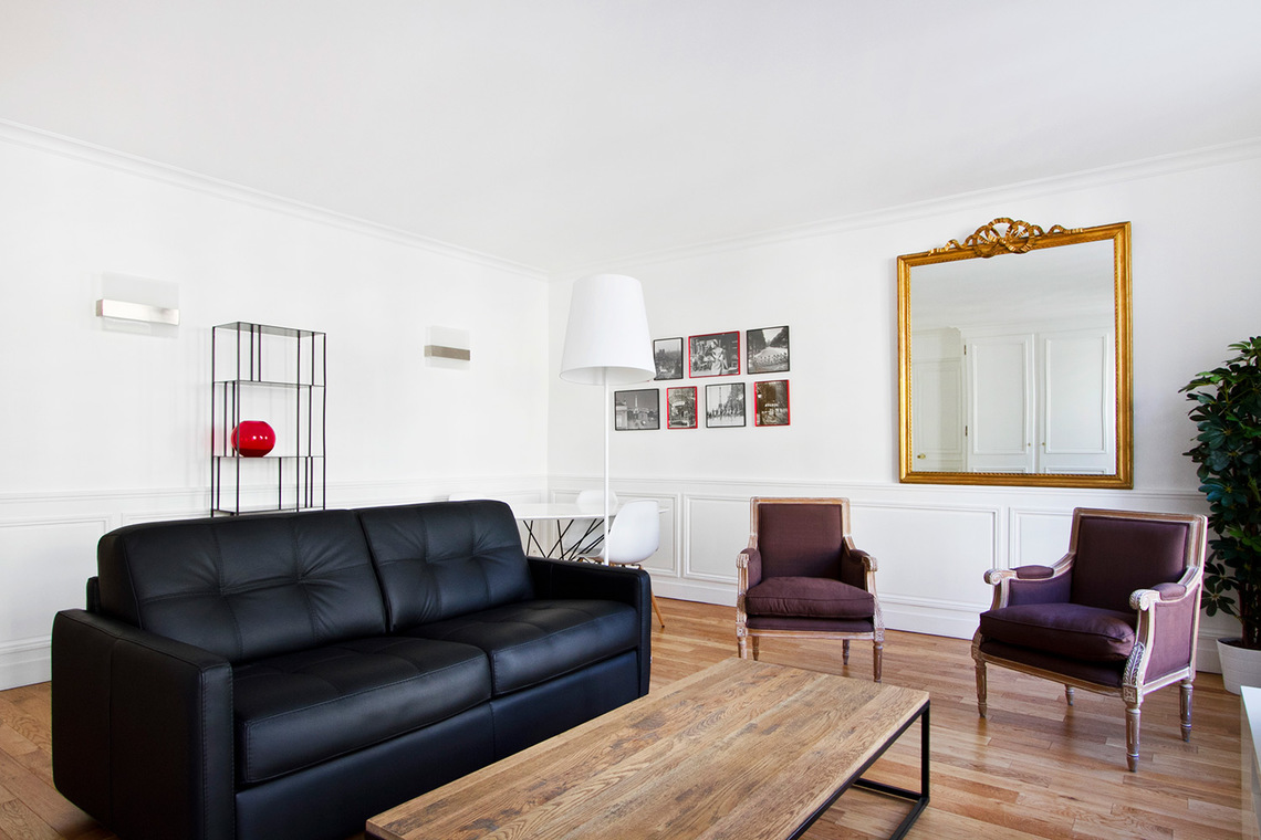 Furnished apartment for rent Paris Rue Volney