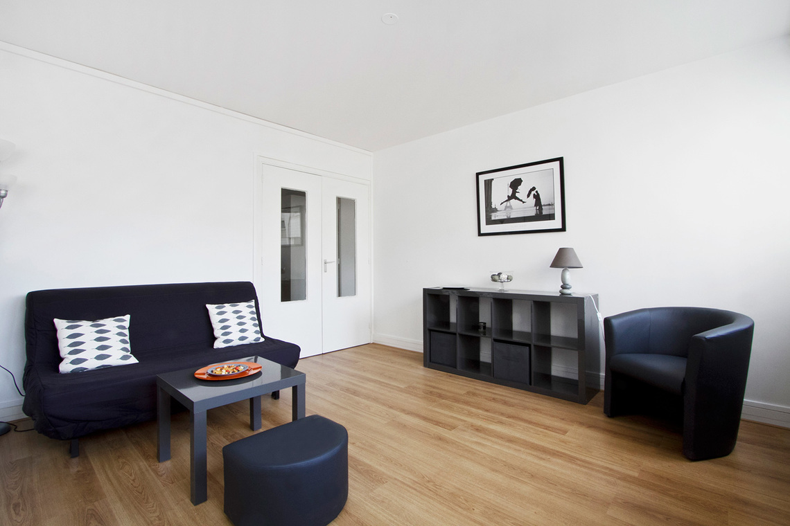 Furnished apartment for rent Paris Rue la Quintinie